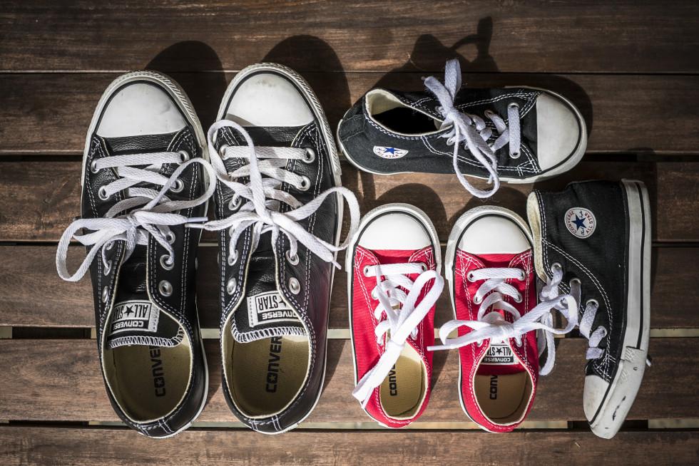 Converse Chucks All Star Leather Fashion Blogger